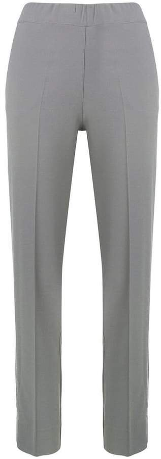 D.Exterior mid rise tailored trousers
