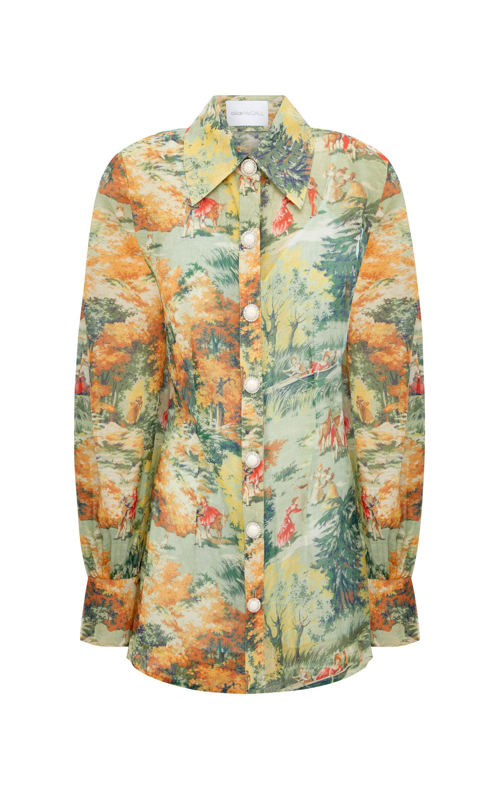 Alice McCall Strange Dreams Cotton Shirt Dress