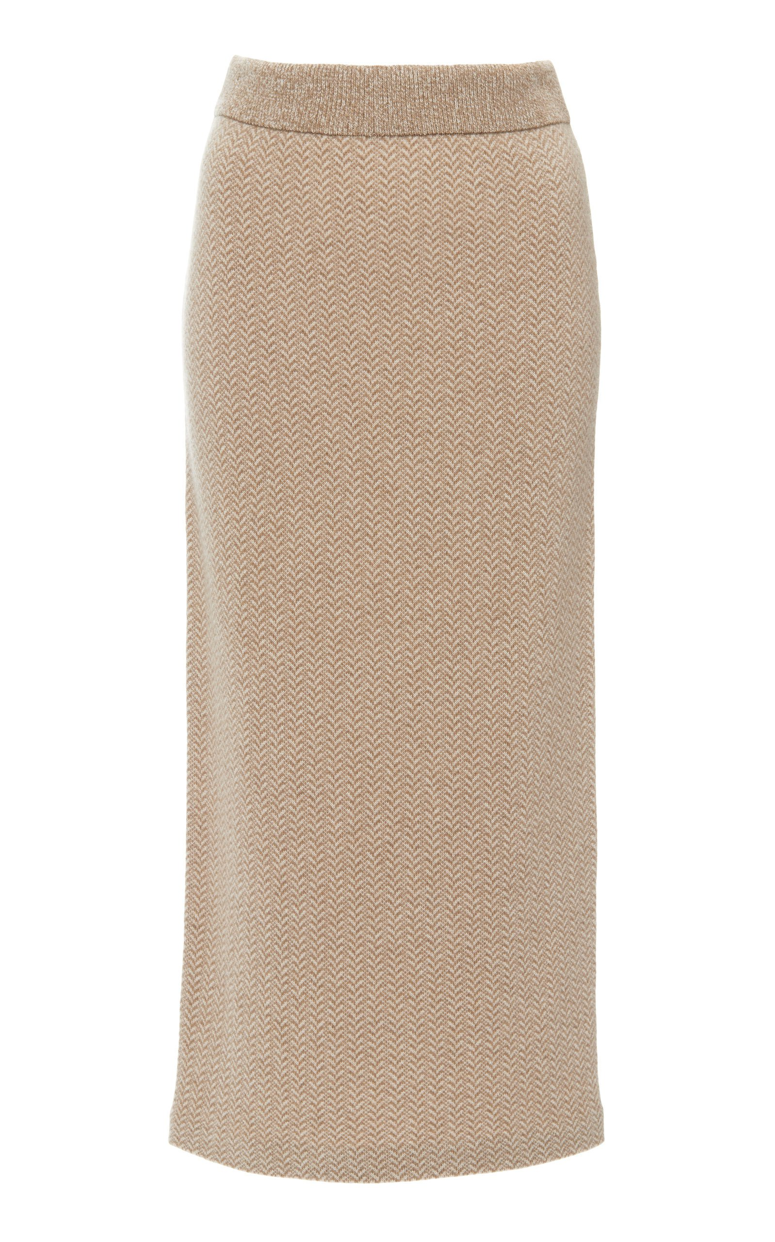 Ralph Lauren High-Rise Cashmere Pencil Skirt