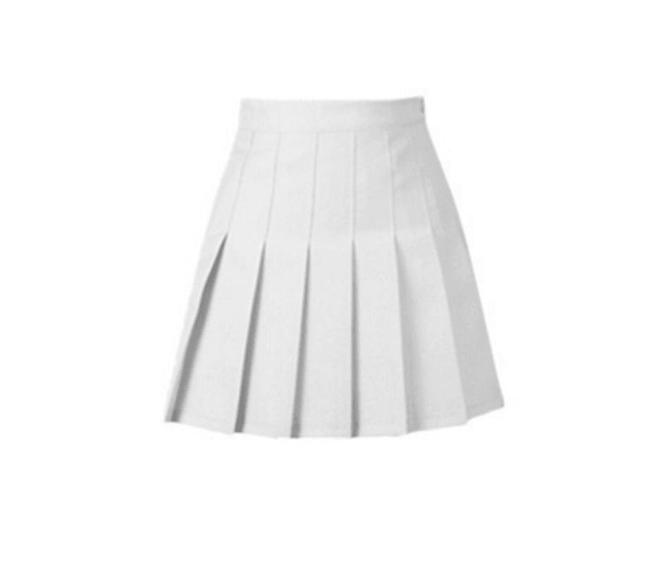 White Tennis Skirt on Storenvy