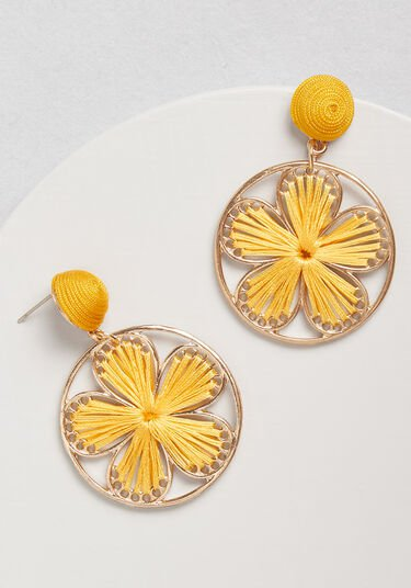 Flower Power Earrings Yellow | ModCloth