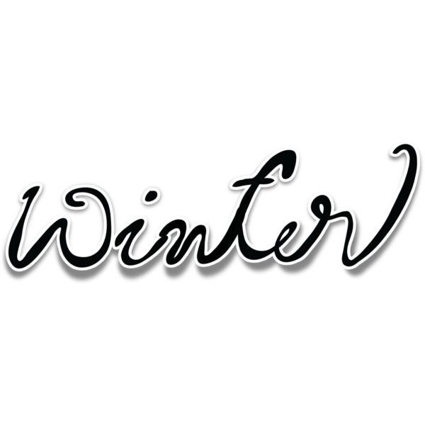 winter text png - Google Search
