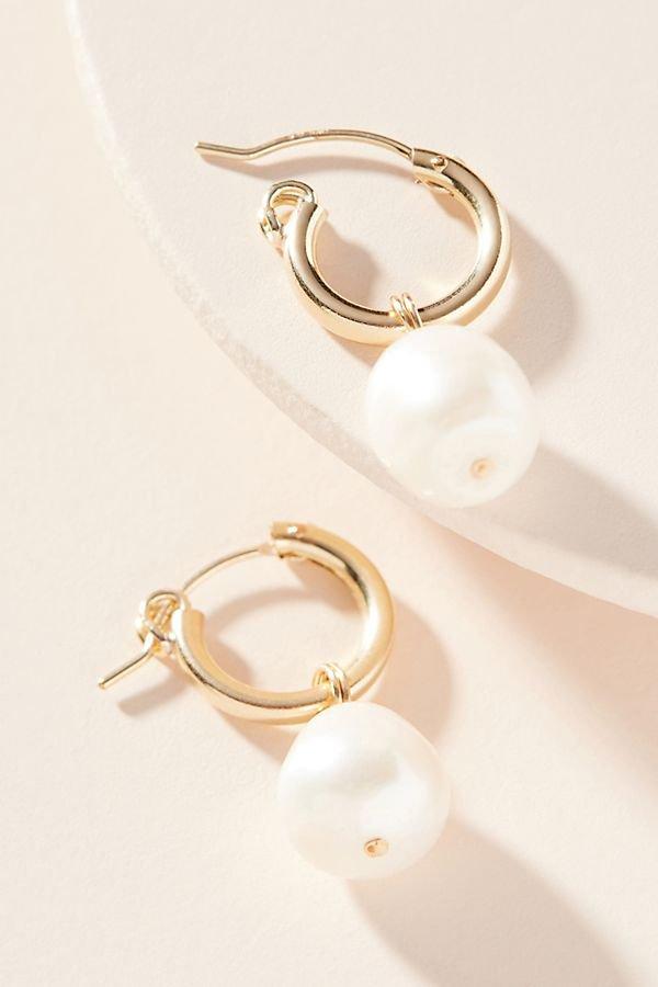 Pearl Drop Earrings | Anthropologie