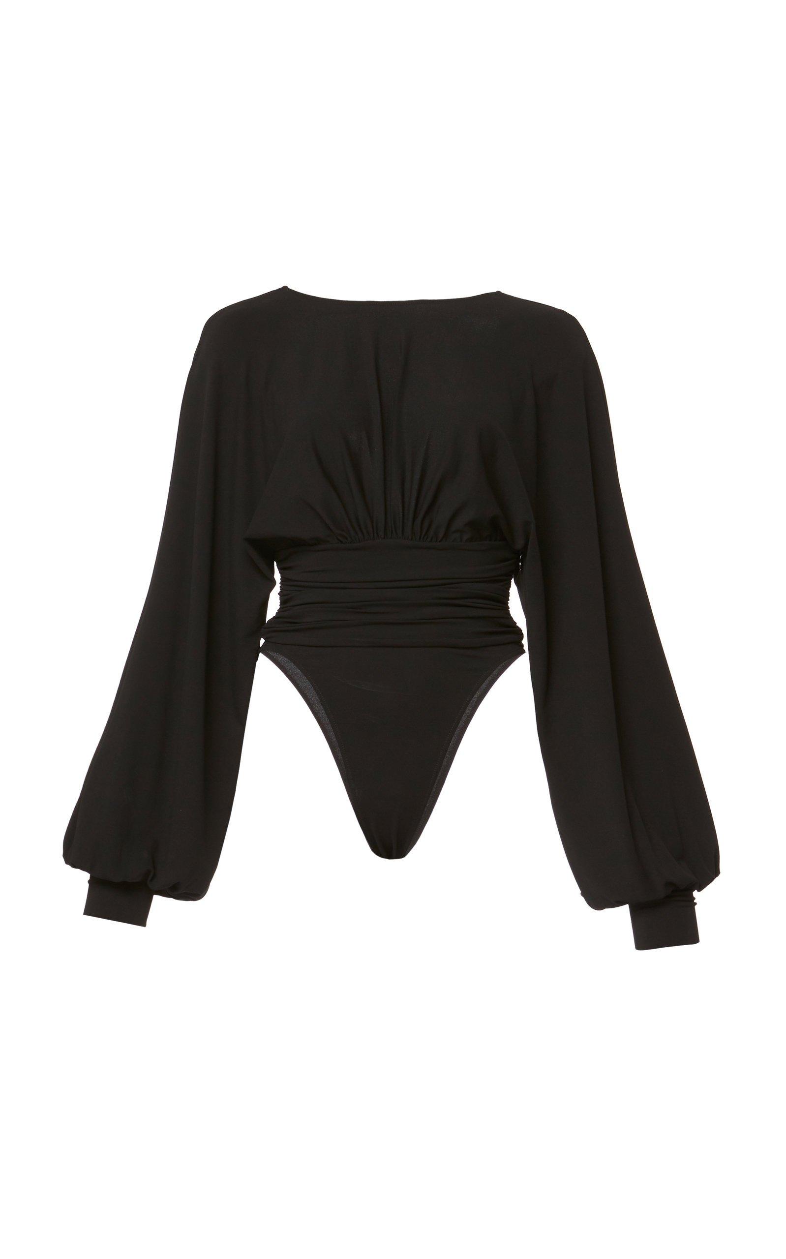 Stretch-Crepe Bodysuit by Alexandre Vauthier | Moda Operandi
