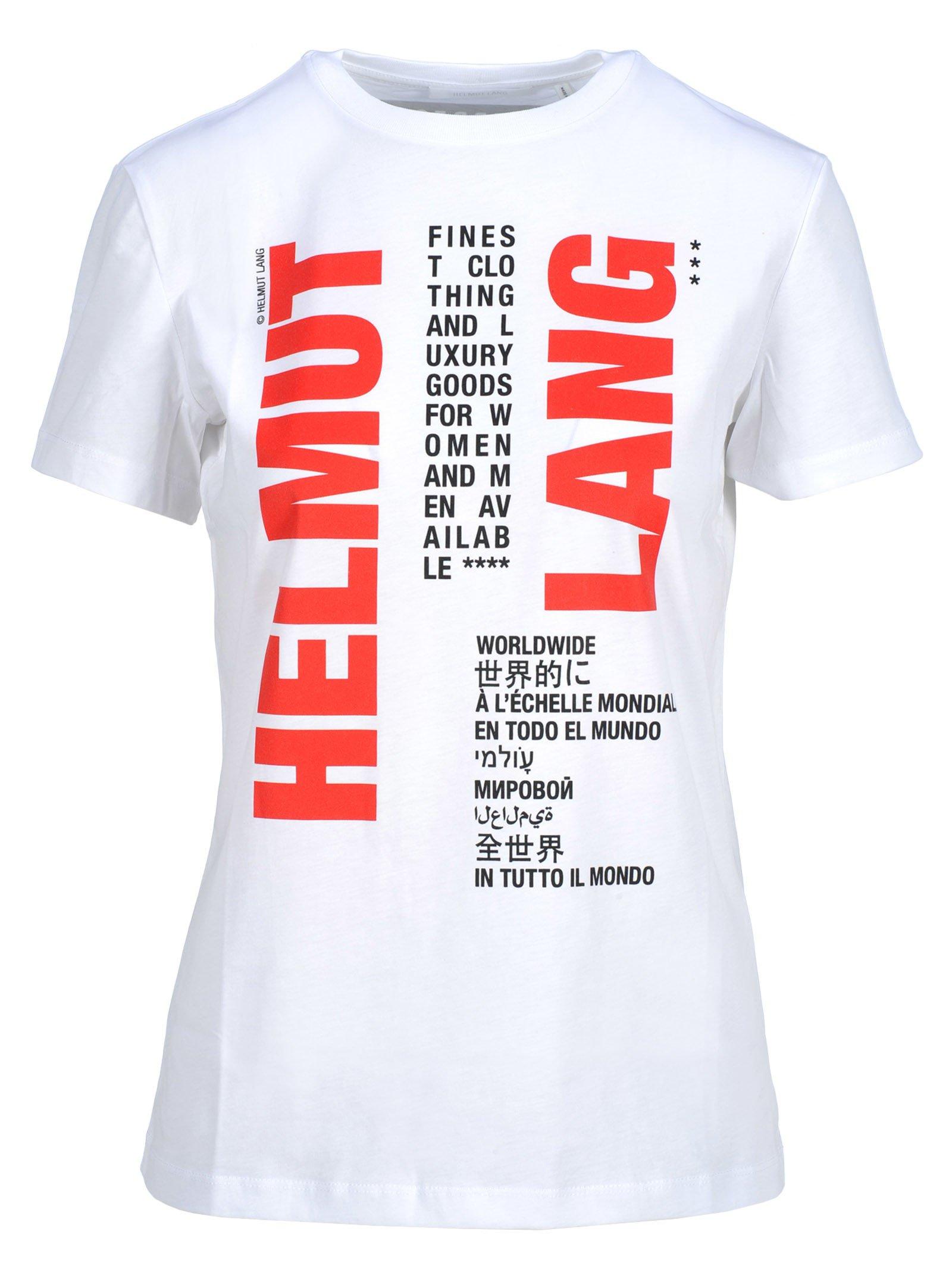 Helmut Lang Helmut Lang Printed T-shirt