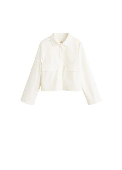 MANGO Organic cotton jacket