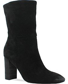Style & Co Sachi Block-Heel Mid-Shaft Boots, Created for Macy's & Reviews - Boots - Shoes - Macy's