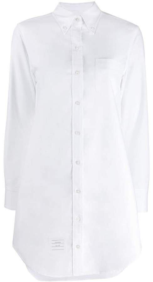 long-sleeve poplin shirt