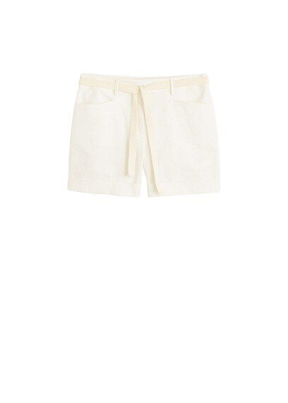 MANGO Rolled-up hem shorts
