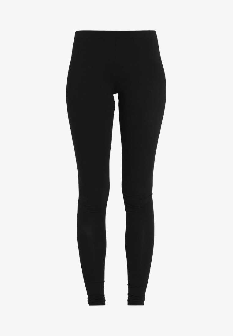 Pieces EDITA - Leggings - Trousers - black - Zalando.co.uk
