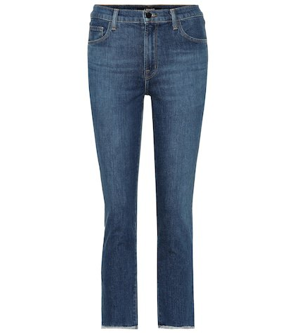 Ruby cropped high-rise jeans