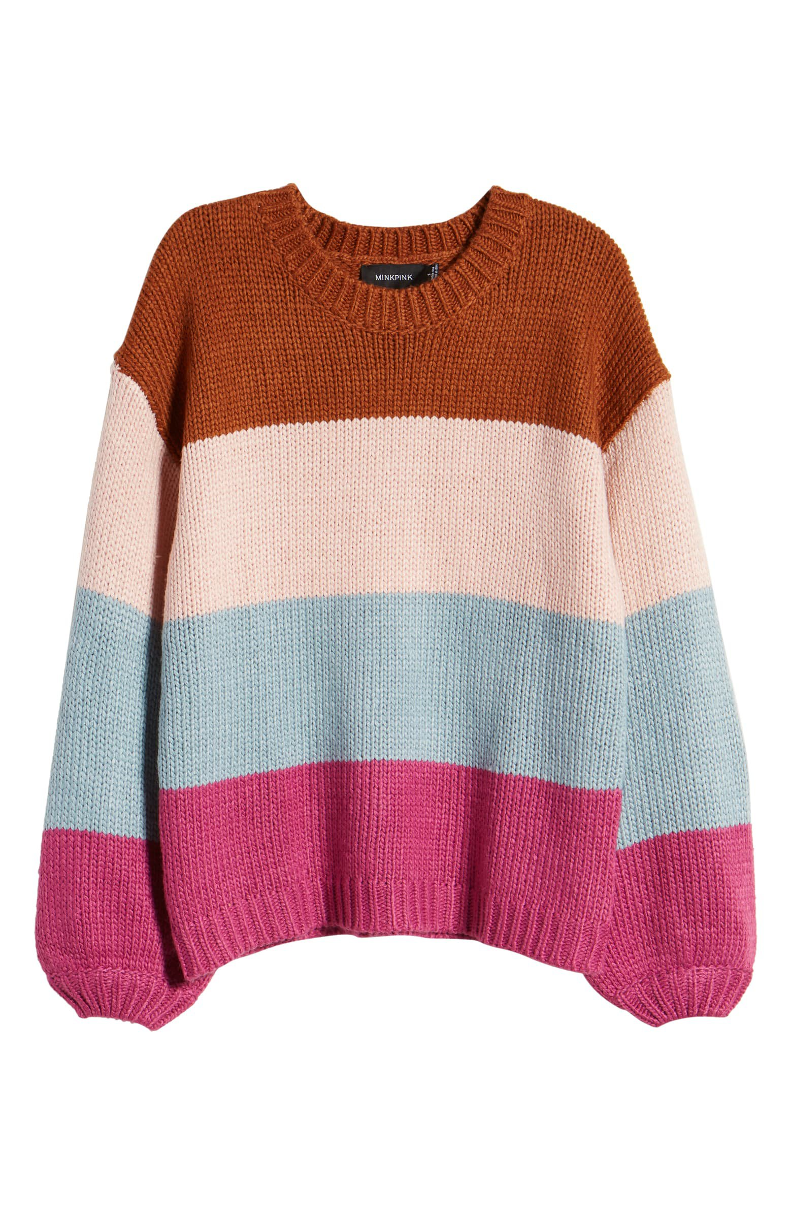 MINKPINK Cozy Up With Me Sweater | Nordstrom