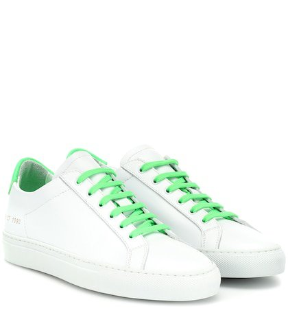 Retro Low leather sneakers