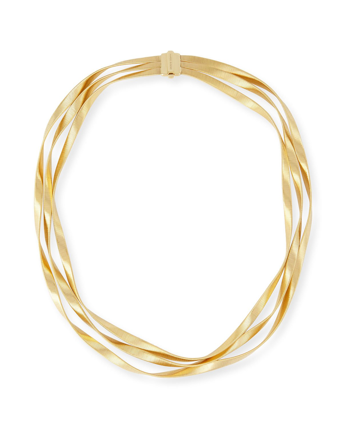 "Marco Bicego 16.5"" Marrakech 18k Three-Strand Necklace"