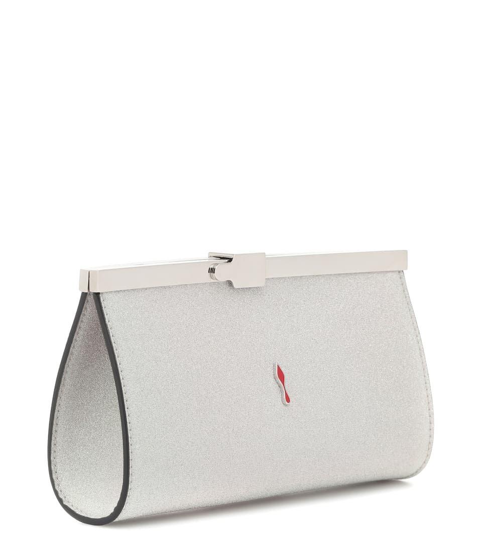 Palmette Small Clutch Bag - Christian Louboutin | Mytheresa