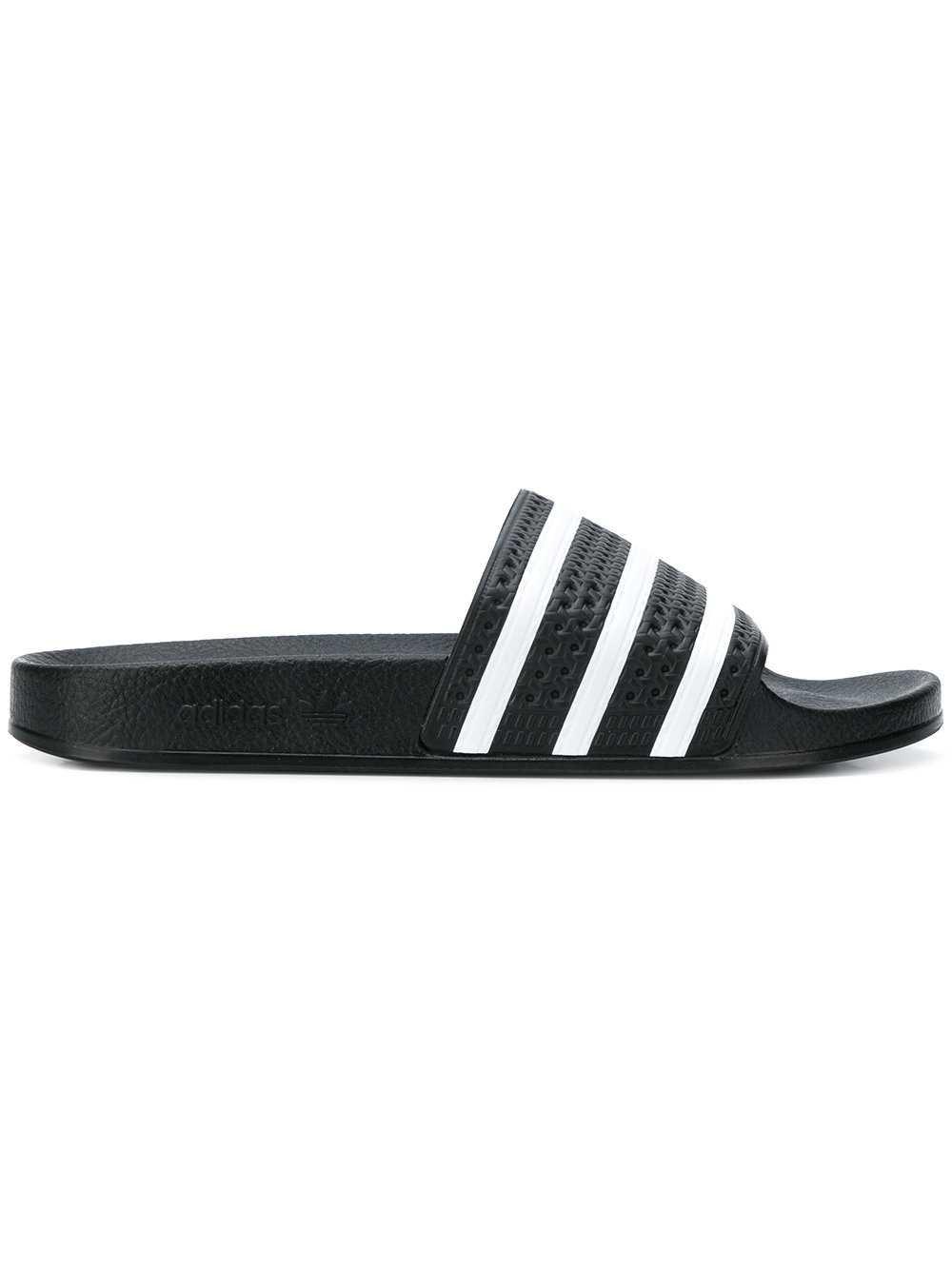 Adidas Striped Pool Slides - Farfetch