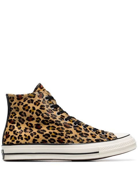 Converse Leopard print Converse Chuck Taylor 70's high-top sneakers