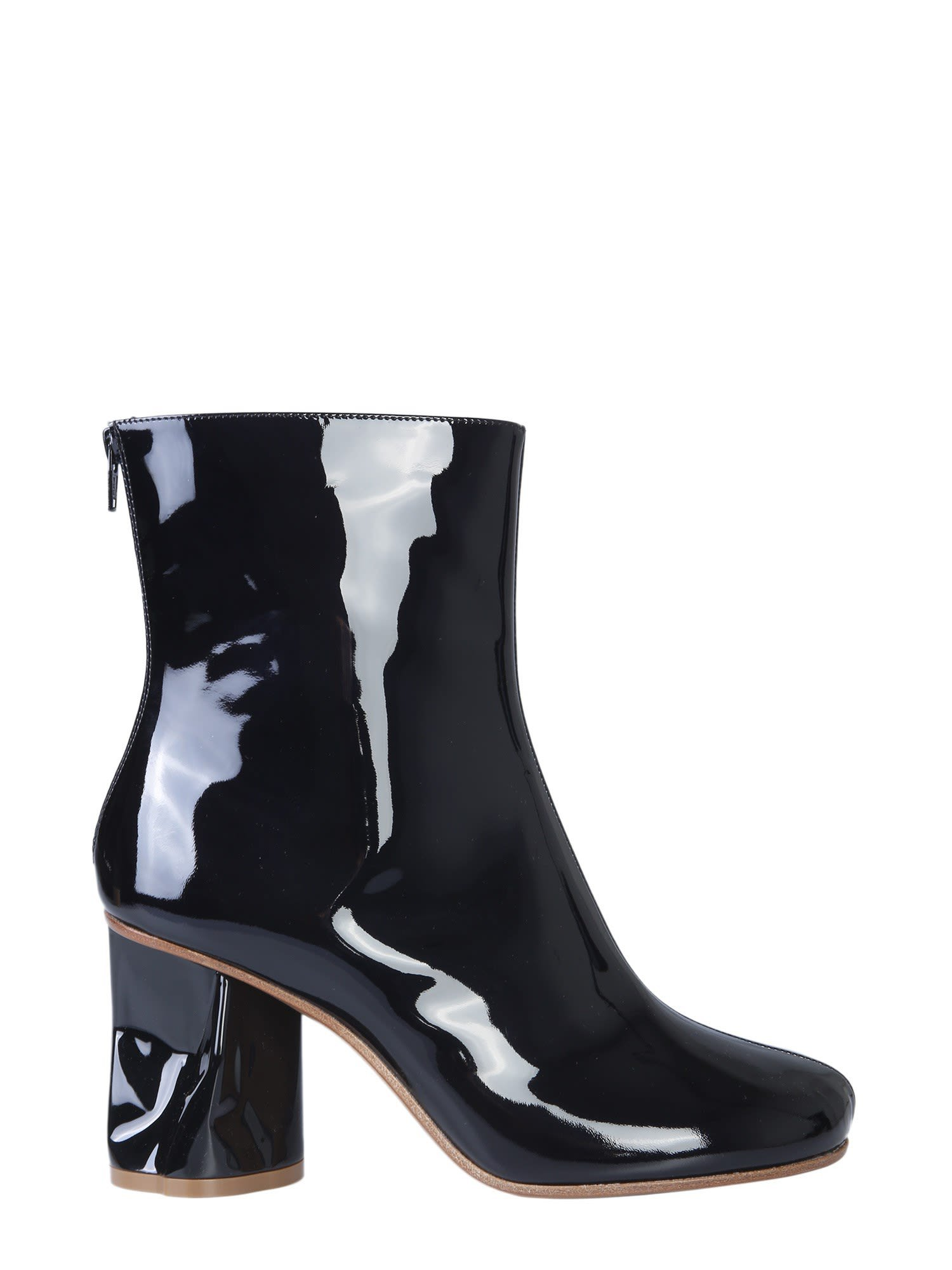 Maison Margiela Ankle Boots With Crushed Heel