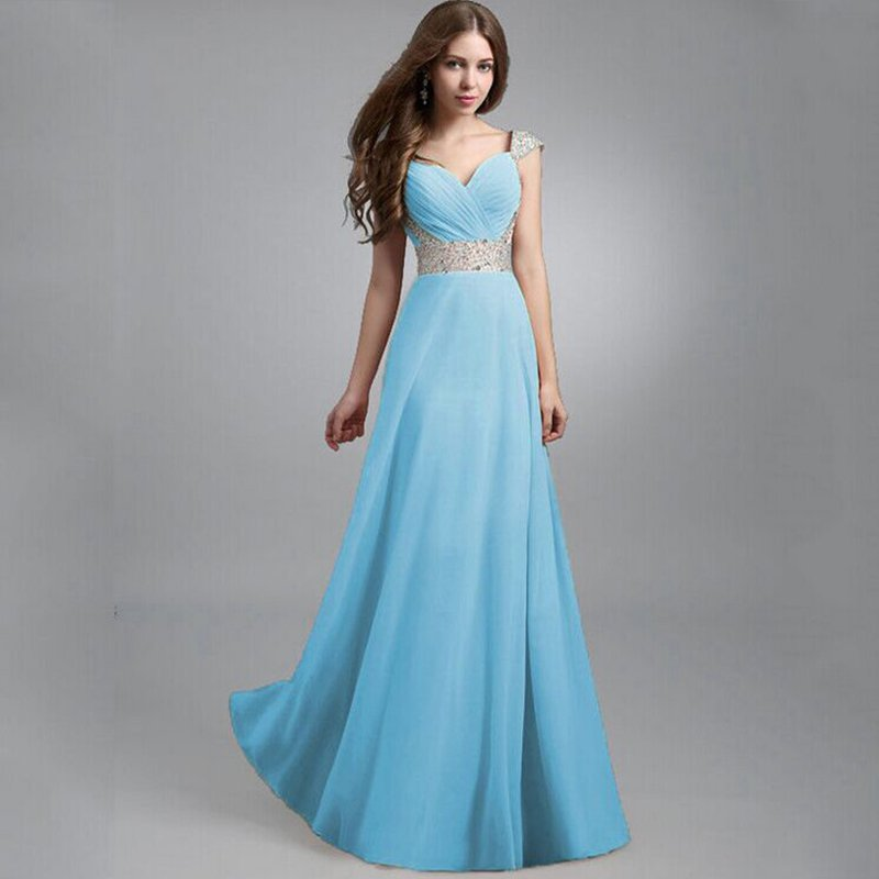 Long Formal Evening Prom Party Dress Bridesmaid Dresses Ball Gown Cocktail Dress | eBay