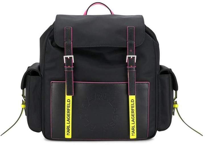K/Neon backpack