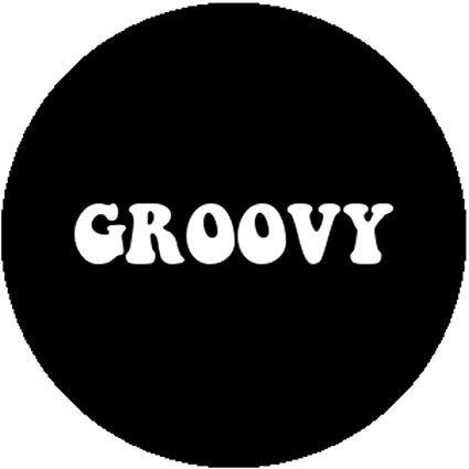 hippie pin - groovy