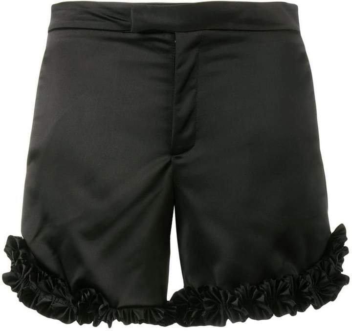 Jour/Né ruffle trim shorts