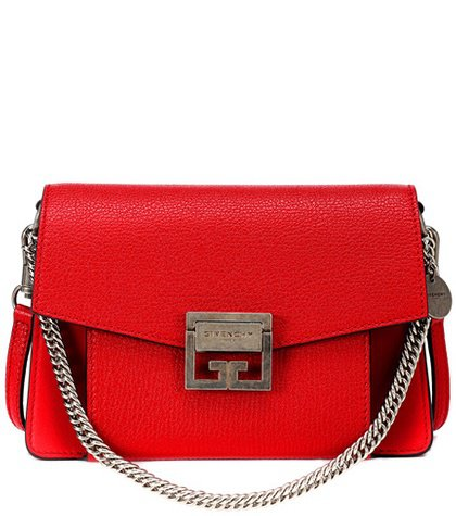 Small GV3 leather shoulder bag