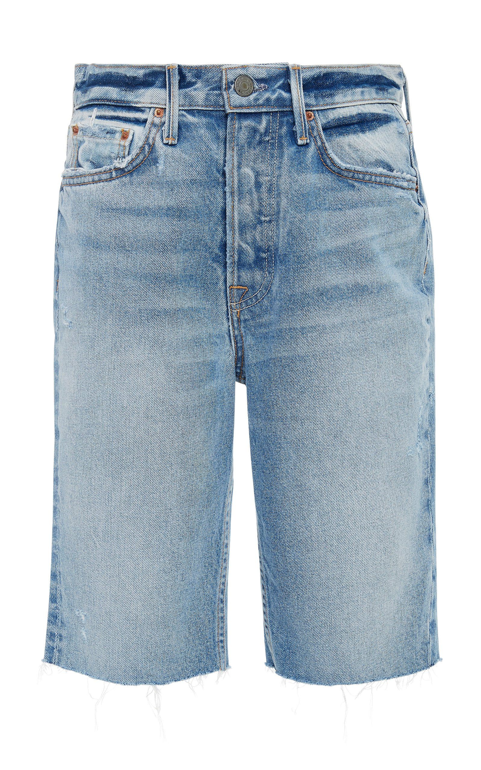 GRLFRND Denim Beverly Denim Bermuda Shorts