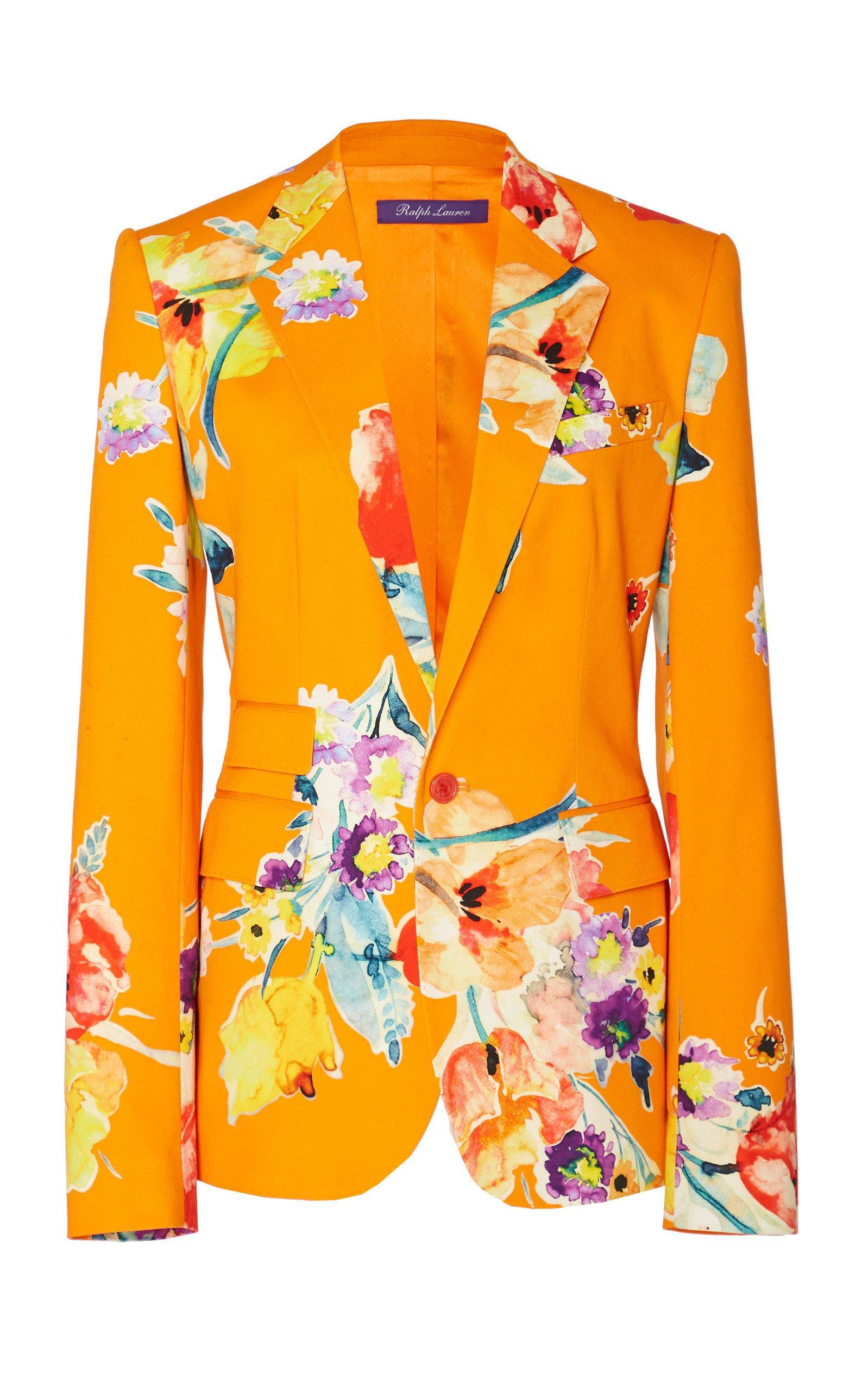 Ralph Lauren Parker Floral Cotton Jacket