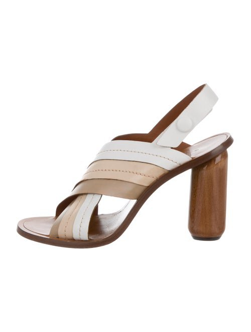 Mulberry Leather Ankle Strap Sandals - Shoes - MUL25033 | The RealReal