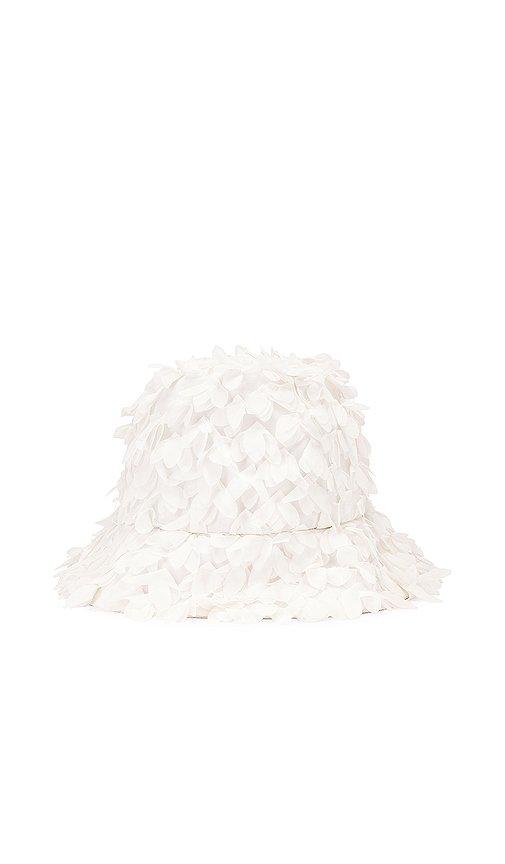 Eugenia Kim Toby Bucket Hat in White | REVOLVE