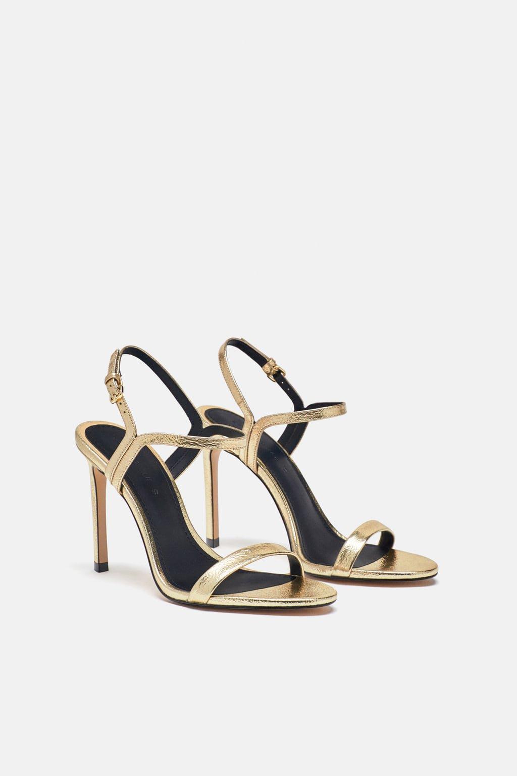 SANDALIA TIRA FINA - Party Shoes-ZAPATOS-MUJER | ZARA España