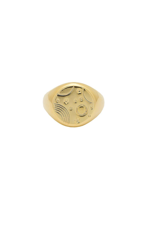 Orbit Signet Ring