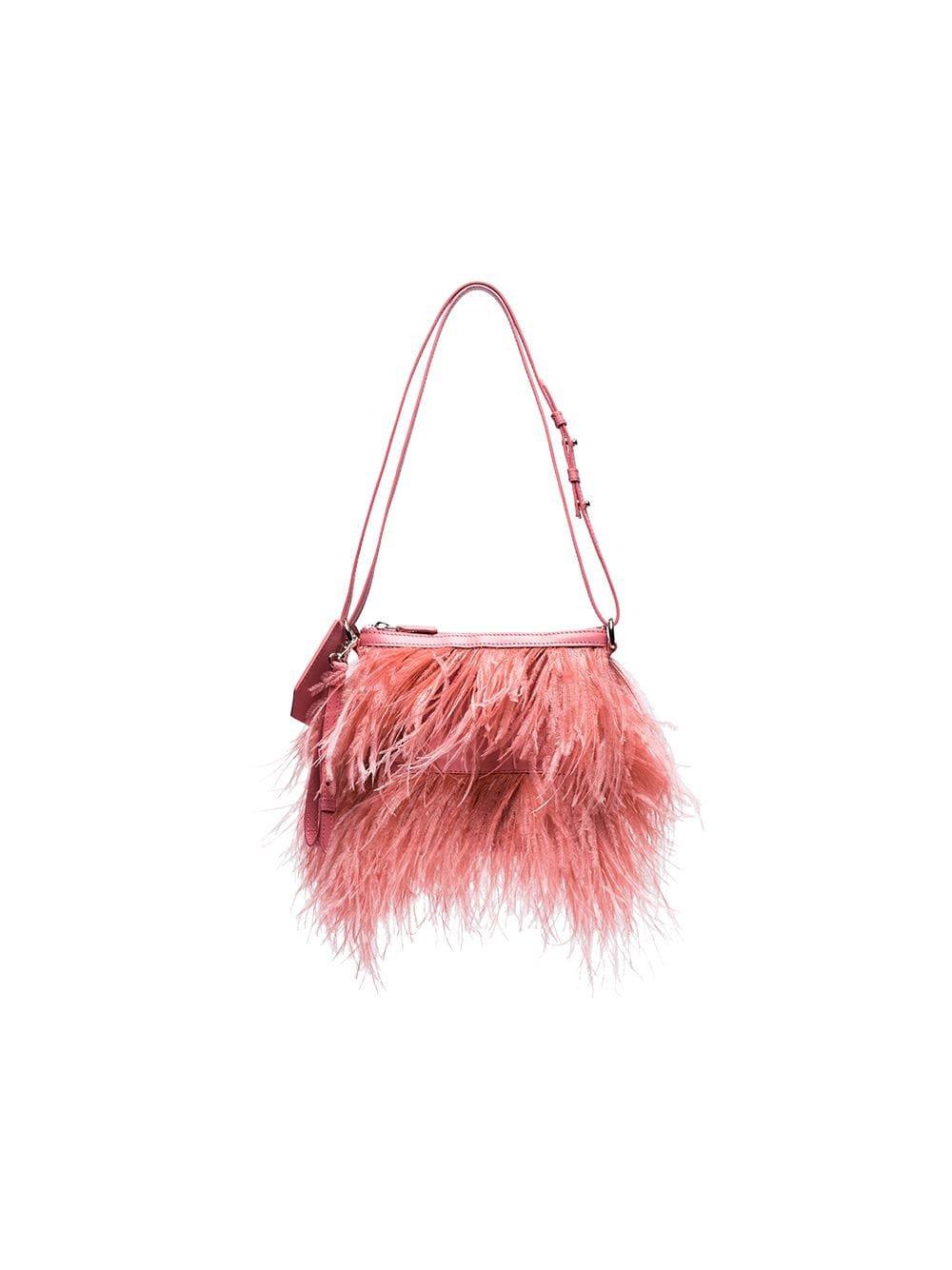 Marques'Almeida Feather Shoulder Bag - Farfetch