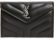 Saint Laurent Small Loulou Matelassé Leather Wallet | Nordstrom