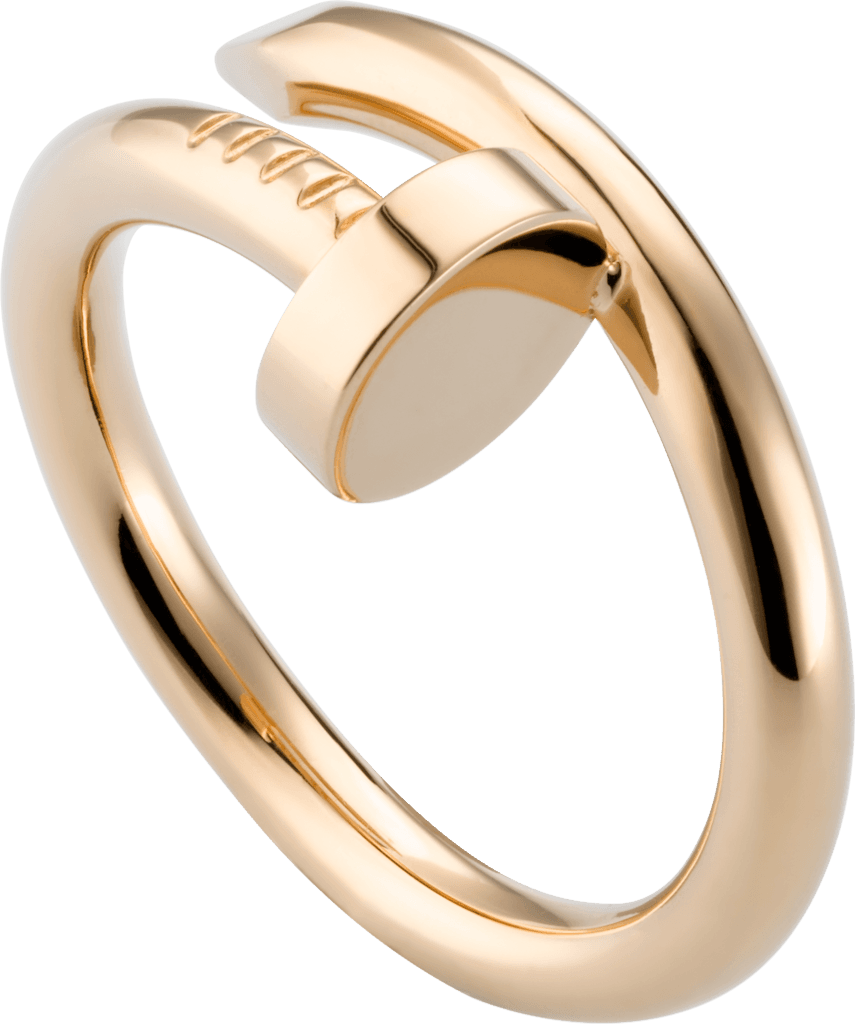 Juste un Clou ring - Pink gold - Cartier