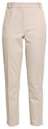 Zoomy Cropped Stretch-twill Slim-leg Pants