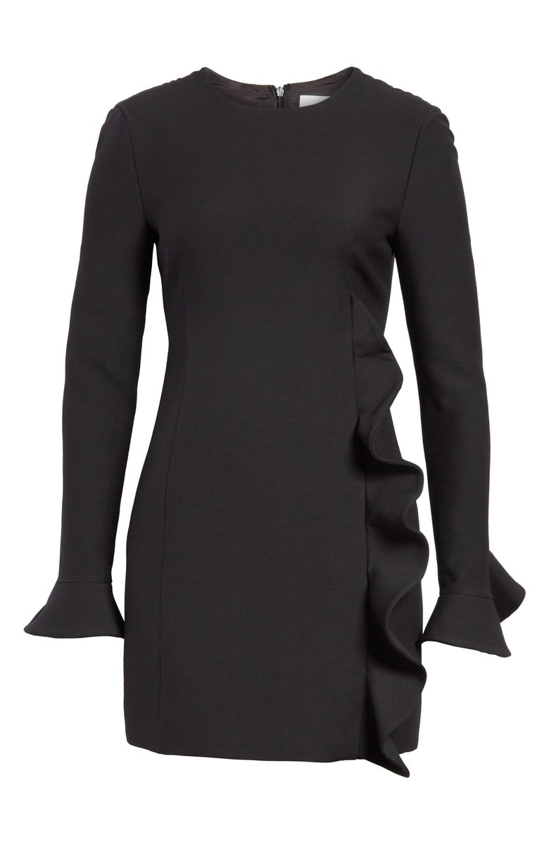 Valentino Ruffle Crepe Dress | Nordstrom