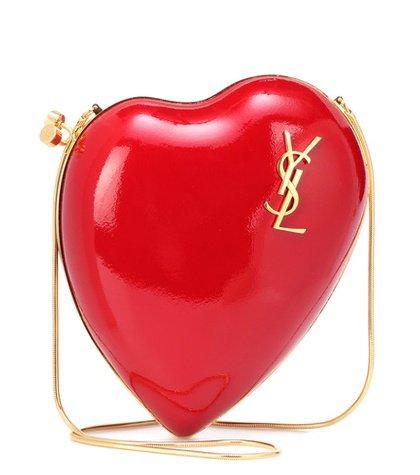 Love Box leather shoulder bag