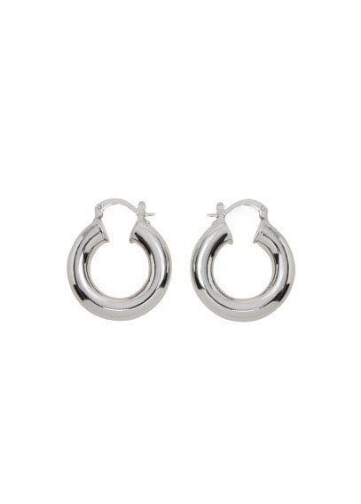 MANGO Hoop earrings