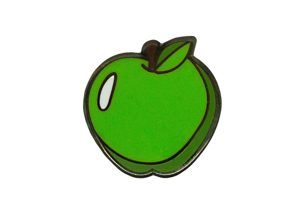 Green Apple Pin – PINTRILL