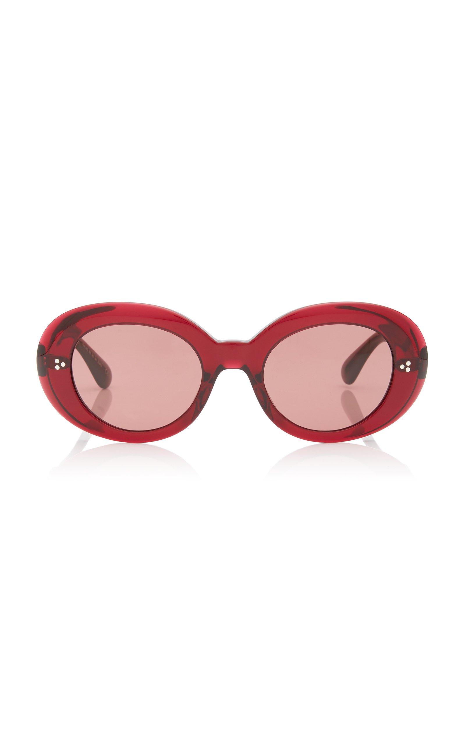 Erissa Round-Frame Acetate Sunglasses by Oliver Peoples | Moda Operandi