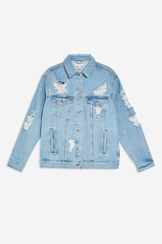 Jackets & Coats   Bomber, Leather & Denim Jackets   Topshop
