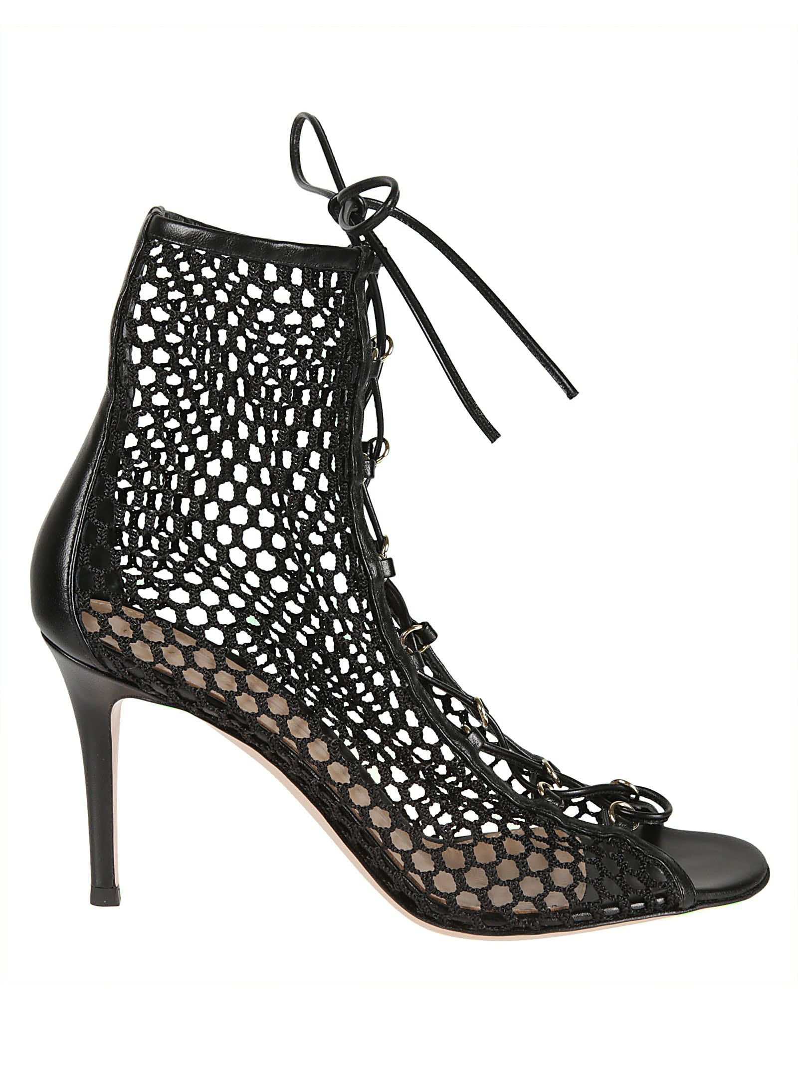 Gianvito Rossi Helene Ankle Boots