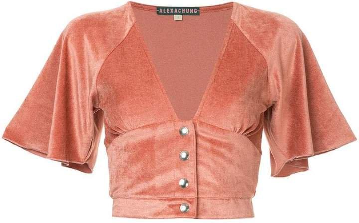 Alexa Chung buttoned top