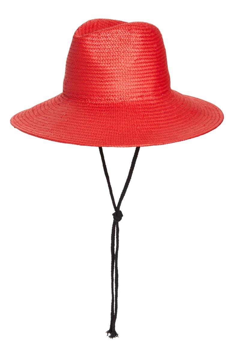 Trouvé Straw Boater Hat   Nordstrom
