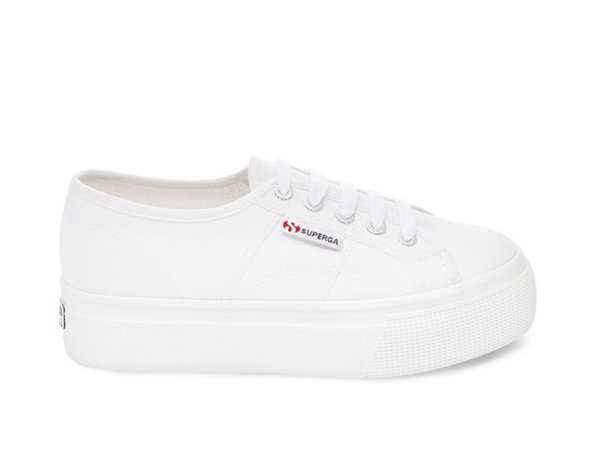 2790 ACOTW Platform Canvas Sneakers by Superga