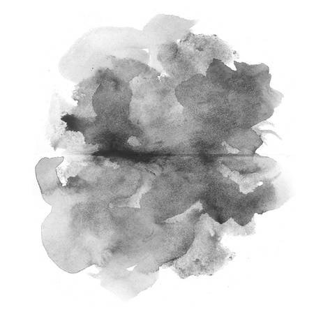 Abstract Black Watercolor On White Background Stock Photo, Picture And Royalty Free Image. Image 14551889.