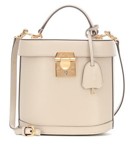 Benchley leather shoulder bag