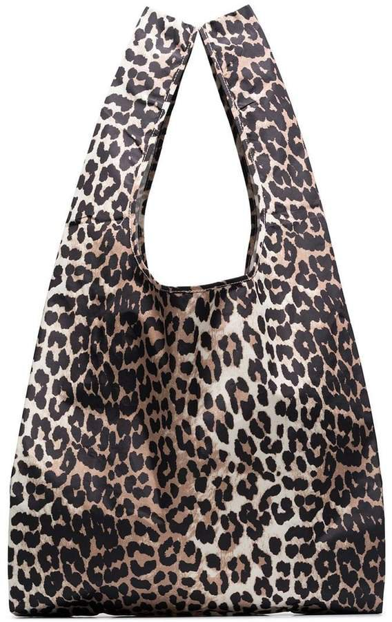 Fairmont leopard print shopper
